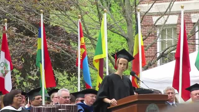 Graduation Speech Earlham 2014