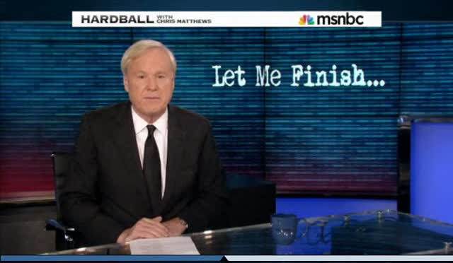 Chris Matthews on Immigration