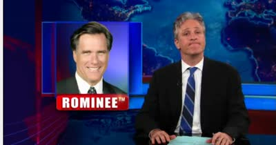 DS JON STEWART &#8211; MITT ROMNEY 05-30-12