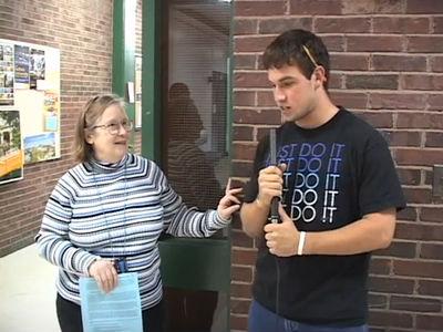 awkward field reporter