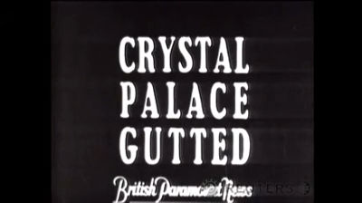 1936 Crystal Palace Fire Reuters ITN