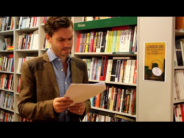 Phil Mulryne reads from Incurable Romantic Seeks Dirty Filthy Whore by Martin Pengelly