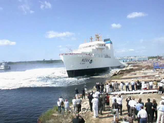 Launch of the Oscar Dyson