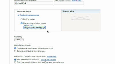 Add a PayPal button to your WordPress.com blog