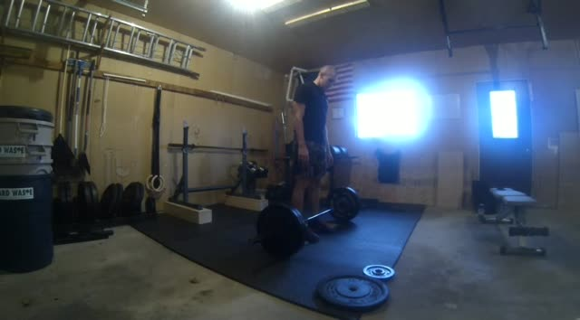 Power Cleans to Mats – 175#