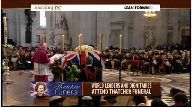 WORLD SAYS GOODBYE TO Margret Thatcher