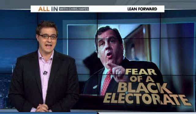 - FEAR OF A BLACK ELECTORATE