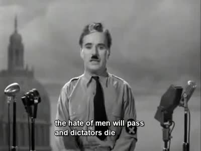 The Great Dictator's Speech