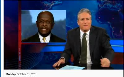 Comedy Central Daily Show Jon Stewart 10-31-11