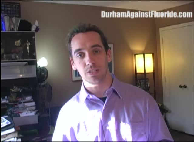 Is Durham Water Management Division Preparing Pro-Fluoride Propaganda?