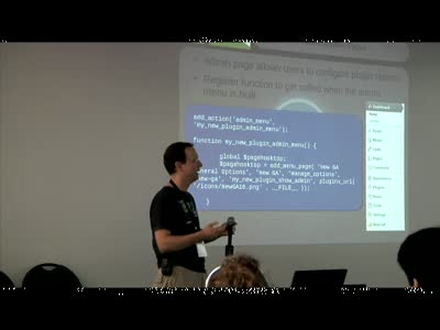 Yannick Lefebvre: Plugin Development Demystified