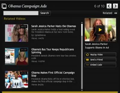 Obama political ads