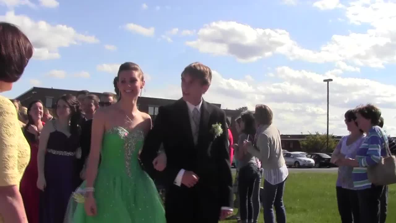 prom entrance reel web