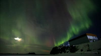 Aurora over White Mountain (video by Jansen Cardy)