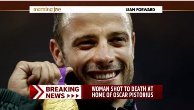OSCAR PISTORIUS ARRESTED FOR MURDER