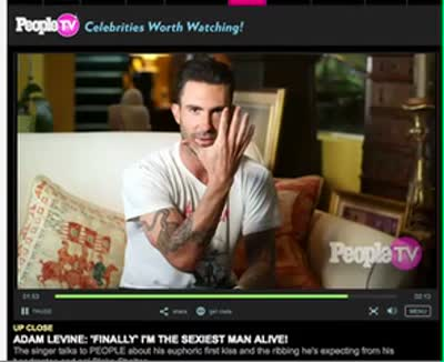 Adam Levine people Video 2