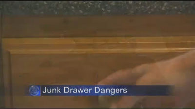 CBS Boston – Junk Drawer Battery Fire