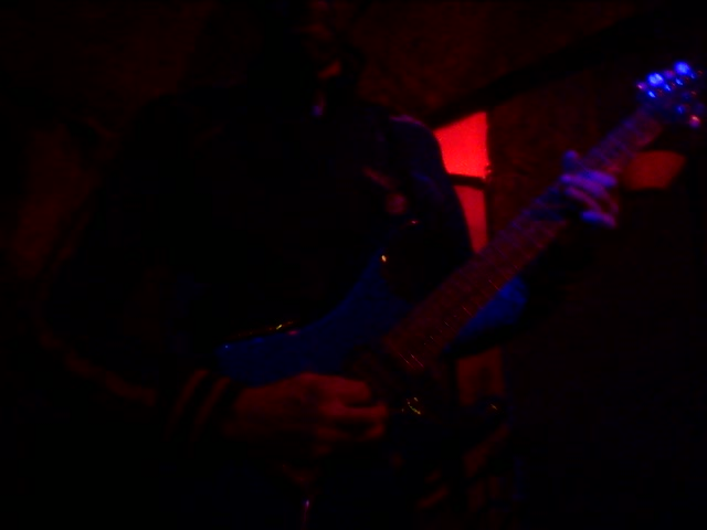 karim pulls a satriani at the tennessee bar in paris