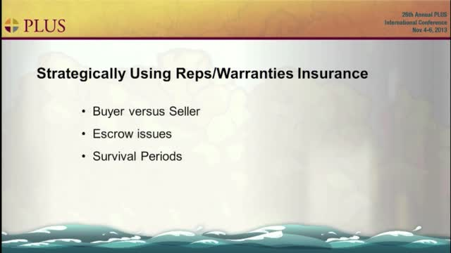 Reps and Warranties clip
