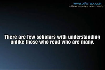 Not all who read are scholars – Shaykh al-Fawzân