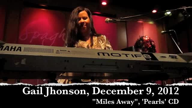 Gail Jhonson, Miles Away, December 9, 2012