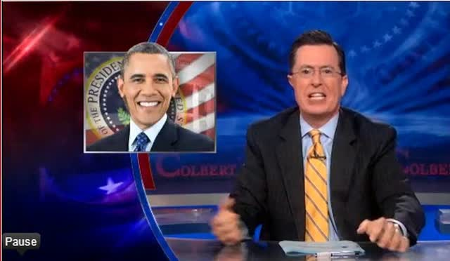 STEPHEN COLBERT'S TAKE ON SYRIAN CRISIS