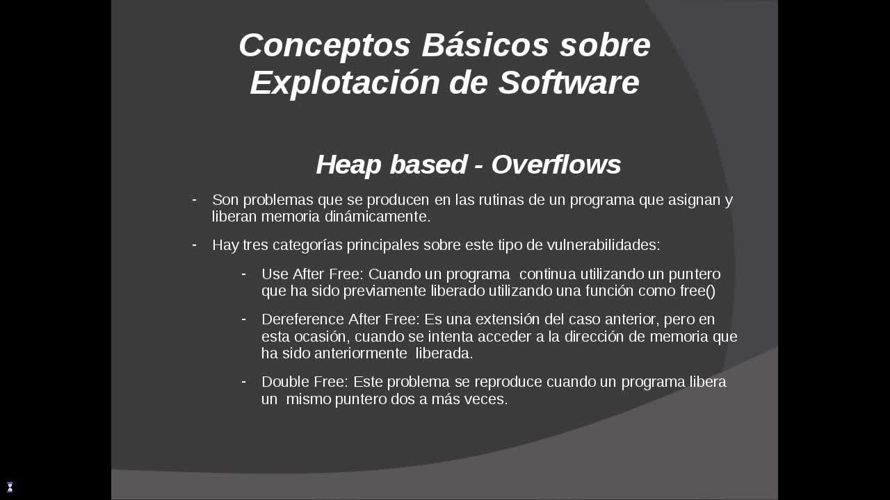 Explotación de Software Parte 22 – Conceptos básicos sobre explotación de software