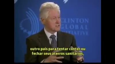 Bill Clinton fala sobre o Brasil