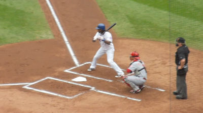 Jose Reyes' last at-bat as a Met