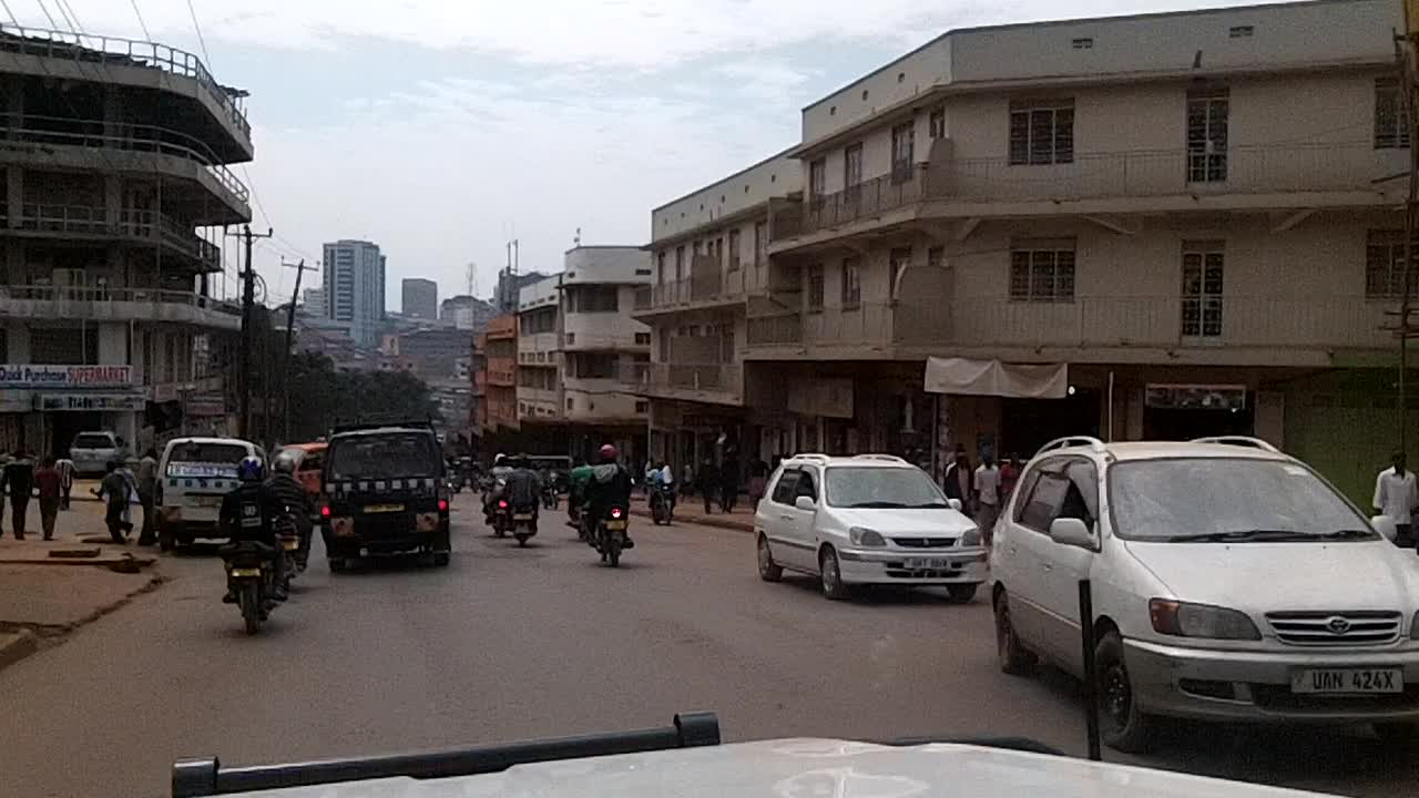 Downtown Kampala Driving