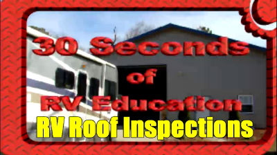 RV Roof Inspections