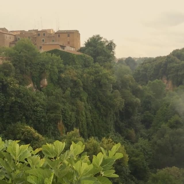 Civita Castellana from Ponte Clementino