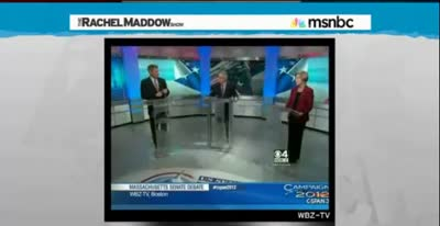 TRMS A CURIOUS THING HAPPENED IN THE SENATE YESTERDAY, SCOTT BROWN