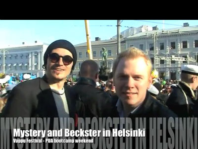 Mystery and Beckster do Helsinki
