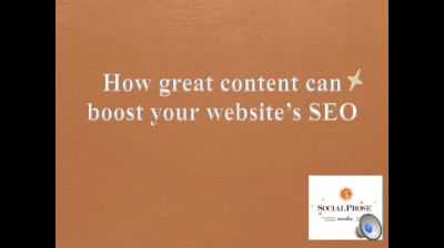 Great Content and SEO