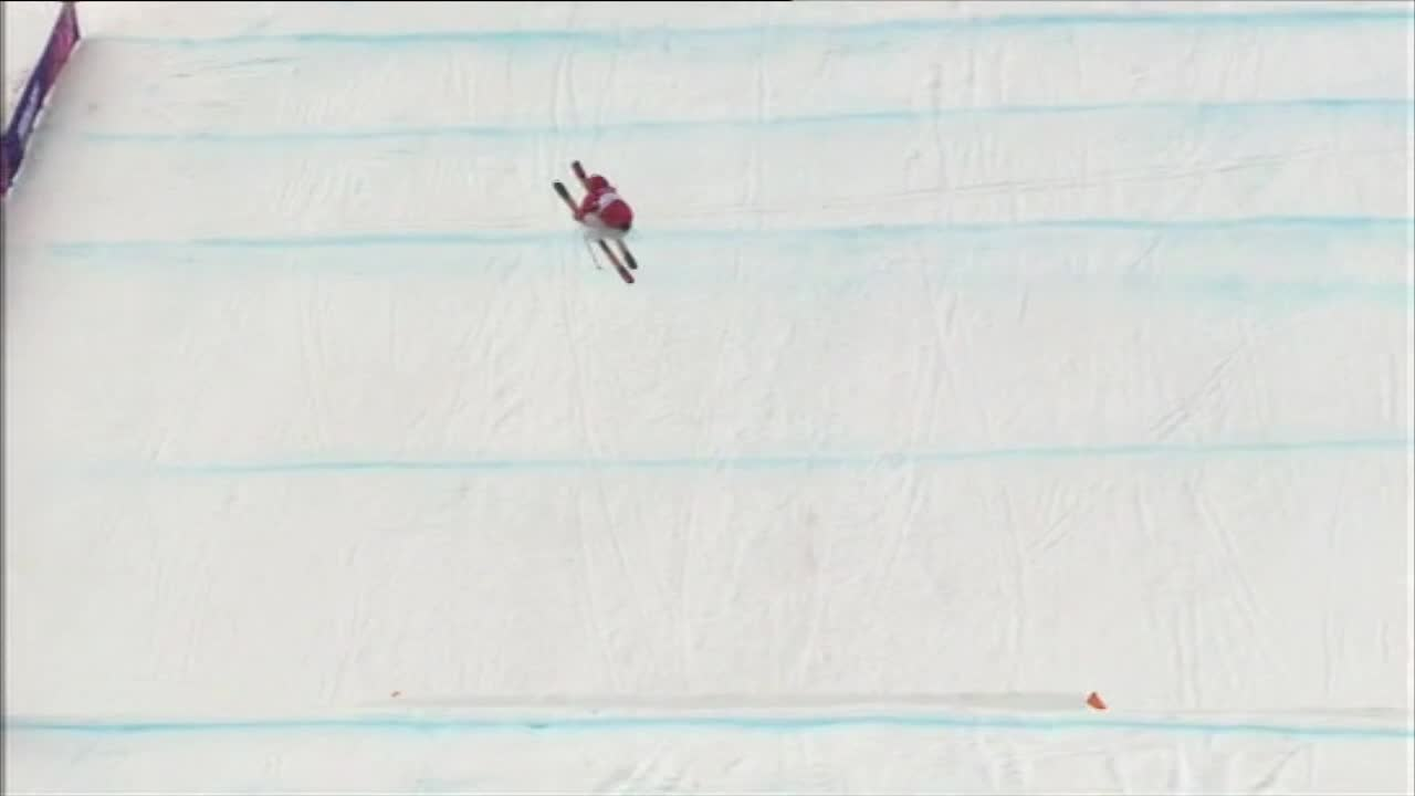 Dara Howell – bow and arrow – Sochi2014