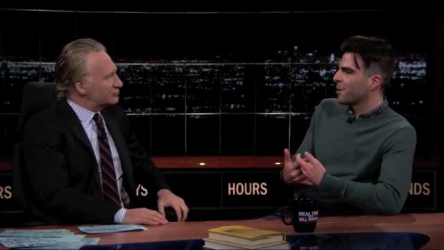 Bill Maher 05/10/13 Zachary Quinto Interview