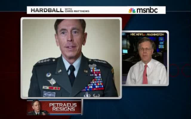 HARDBALL –  THE PATRAEUS AFFFAIR 11-12-12