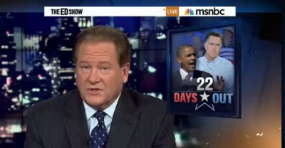 EDSHOW OBAMA AND THE DEBATE TONIGHT