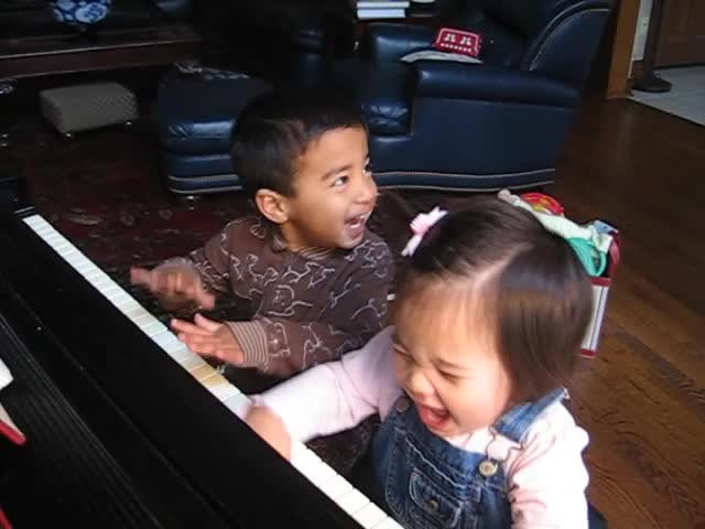 Joshie and Karine Piano