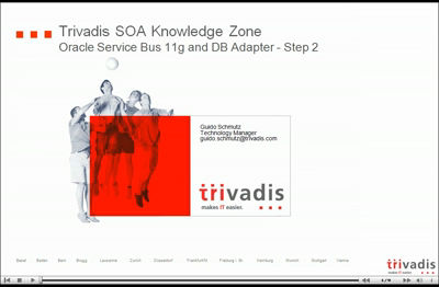 Oracle Service Bus 11g and DB Adapter &#8211; Part II: The video