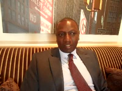 www.africanpress.me &#8211; Hon William Ruto in the Hauge &#8211; Part 2