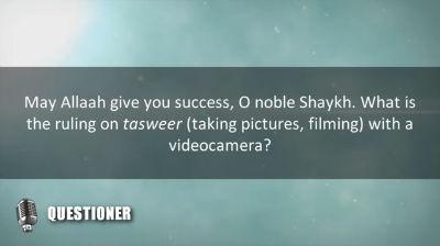 Al-Allaamah al-Fawzaan refutes those who say that he allows videography