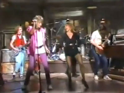 Tina Turner &amp; Rod Stewart &#8211; Live SNL 1981