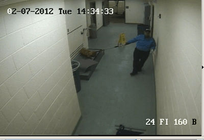 ACO at Memphis Pound Dragging Dog on Chokepole