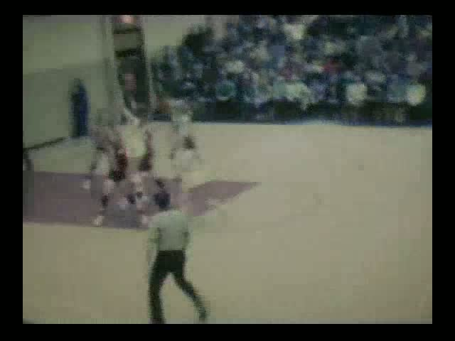 Rolfe (red uniforms) at Manson Dec. 22, 1971