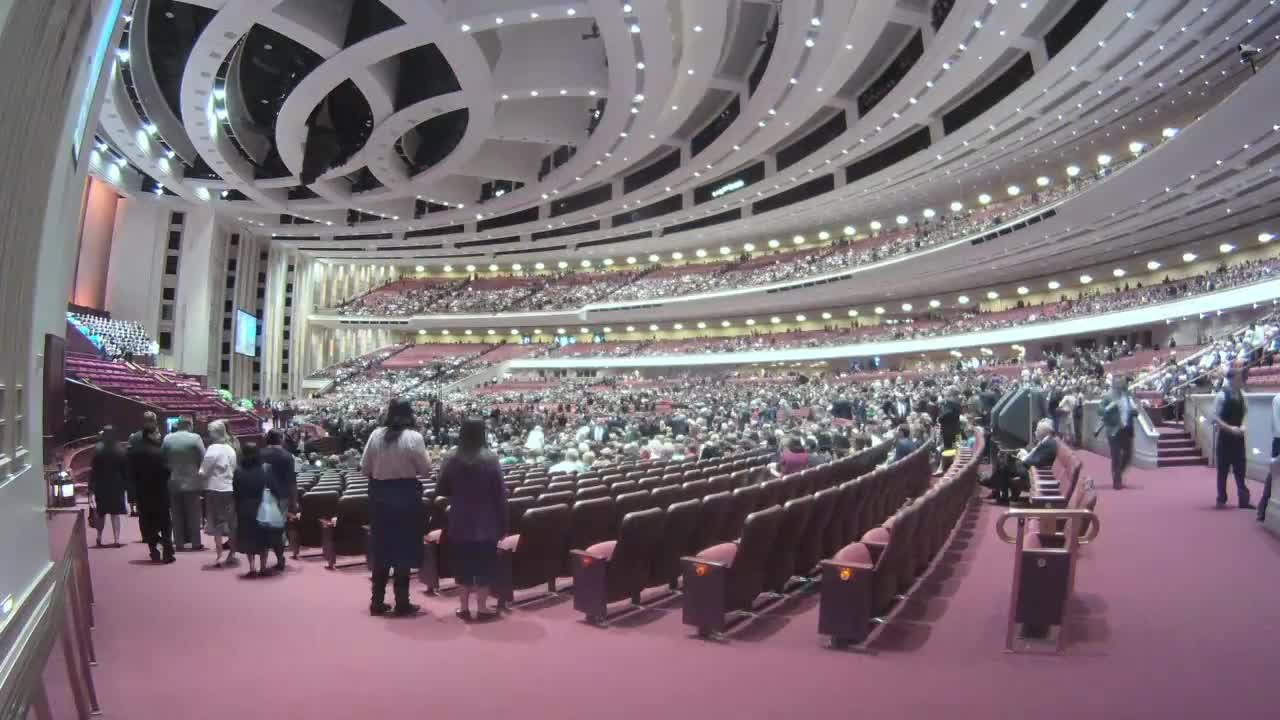 LDS General Conference Time-Lapse October 2012