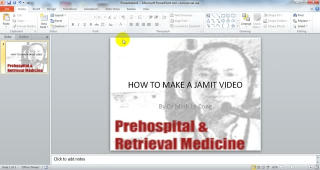HOW TO MAKE A JAMIT VIDEO