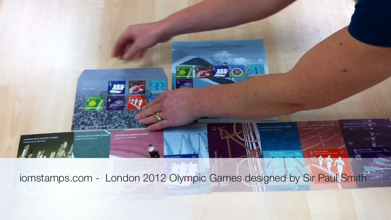 An overview &#8211; Isle Of Man Stamps And Coins London 2012 Olympic Collection by Sir Paul Smith