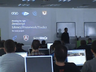 Hristo Chakarov: Choosing The Right JS Framework/Library/Toolkit